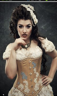 Soft Steampunk modeled by the Ethereal La Esmeralda.  She wears The Dr Brassy Goddess Choker and Ophelias Folly Corset. All on Etsy.