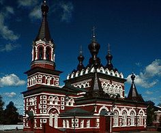 Cathedral of St. Seraphim (1907), Southwest View, Viatka, Russia