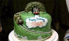 Thomas & Percy Cake #Thomas #Percy #Cake