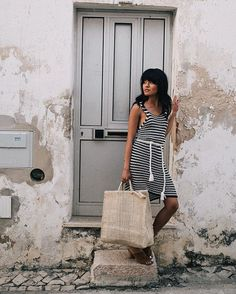 Lusting over Lisbon's charming streets in Girly Outfits, Classy Outfits, Travel Outfits, Olivia Lopez, Faithfull The Brand, Weekend Outfit, Elegant Outfit, British Style, Summer Looks