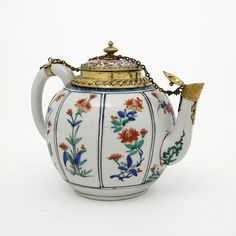 Oriental porcelain with European silver mounts is recorded as early as 1365 and from then until the end of the sixteenth century such precious mounts were provided as a tribute to the great rarity of the porcelain.