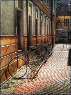 Parking for bicycles by ~R1FL3