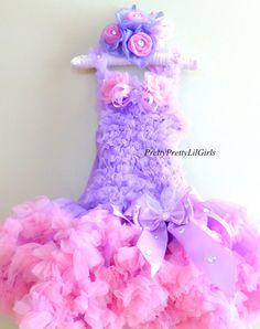 Girls Dress Petti Dress Girls Birthday by PrettyPrettyLilGirls, $49.99