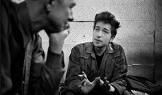 Pete Seeger and Bob Dylan, Newport Folk Festival, 1964
