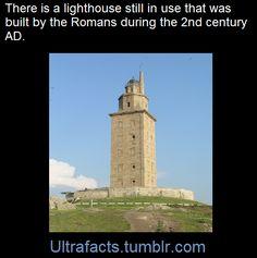Eeyore's eye — ultrafacts:   The Tower of Herculesis an ancient...