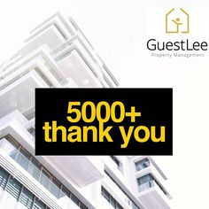 Thank you to all 5000 awesome people part of the GuestLee Nation. We bring together Real Estate to the Century. To celebrate this we have great announcements to make this month Stay tuned for the of June 2018 Sharing Economy, Air B And B, Geneva, Stay Tuned, Good People, 21st Century, Switzerland, Awesome, Amazing