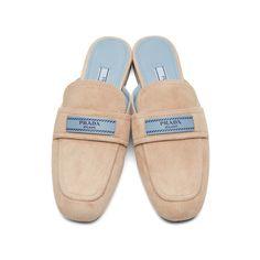 a0f6877f67823 Prada - Pink Suede  Prada Tag  Slippers