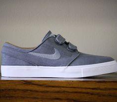 Nike SB Stefan Janoski Velcro – Cool Grey / White