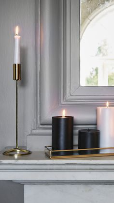 Candlelight is an instant way to create a warm atmosphere in any room — discover our selection of stylish candles and candle holders. | H&M Home
