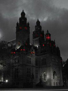 Gothic Castle, Dark Castle, Gothic House, Gothic Aesthetic, Slytherin Aesthetic, Glasgow Art Gallery, Gallery Gallery, Victorian Vampire, Victorian Gothic