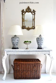 http://www.paintmewhite.com/2012/03/sideboard-and-ginger-jar-lamps.html