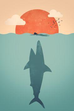 javmtz:    Shark Attack by ~FILISKUN