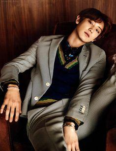 170404 Chanyeol for L'Officiel Hommes Apr 2017 Issue Cr. Kaisoo, Chanbaek, Exo Ot12, Baekhyun Chanyeol, Exo Exo, Shinee, Seoul, Rapper, Luhan And Kris