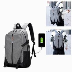 f0cf2c2d0777 Anti-theft Korean Version Of The Multi-functional Computer Bag Travel Bag  Students Leisure Backpack