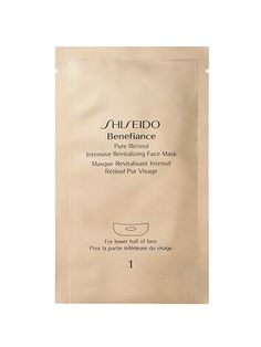 ) love retinol, so it only makes sense that we would be all about a sheet mask that seeps it into our skin. Because retinol can be drying, this sheet mask also provides a heavy dose of hydrating ingredients to prevent any flaking. Best Sheet Masks, Acne Face Mask, Cosmetic Design, Homemade Face Masks, Anti Aging Tips, Prevent Wrinkles, Facial Masks, Facial Scrubs, Shiseido