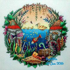 Instagram media nofalita_chillalaric - #johannabasford #enchantedforest #florestaencantada #coloring #bayan_boyan #colorindolivrostop #coloring_secrets #ekspresiwarna #colortherapy #arttherapy #relaxation #coloringbook #coloringbookforadults #coloringforadults #adultcoloringbook #potd #pictureoftheday #coloringoftheday #fabercastell #staedtler #likeforlike #tagsforlike #instalikes #instapict #instacoloring  #zendoodle #zentangle #doodle #creativelycoloring #colortherapyclub