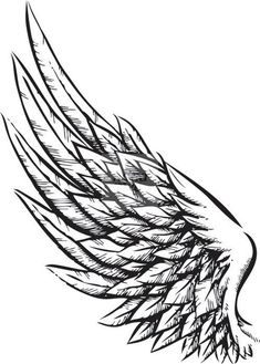 Tattoos for men and women wings tatuajes de alas de angel, t Tattoo Sketches, Tattoo Drawings, Body Art Tattoos, New Tattoos, Sleeve Tattoos, Tattoos For Guys, Tattoo Art, Wrist Tattoos, Celtic Tattoos