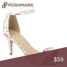 Classic Floral Heel  These beauties are brand new and in box! A trendy zipper back competes the classic with a modern twist look. Complete your outfit! This is a classically unique heel. Heel height is about 3 inches. Sizes 5.5, 6, 6.5, 7, 7.5, 8, 8.5, & 10 available! Comment with questions, add them to a bundle for 20% off your purchase! FYI some sizes only have 1 pair available! Shoes Heels