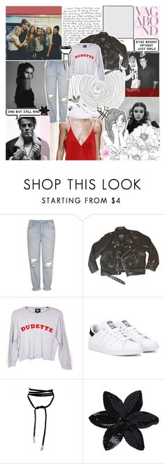 """baby, come through on a late night creep, pull up on you like, beep."" by girlvlmighty ❤ liked on Polyvore featuring GET LOST, Topshop, Valfré, adidas Originals, Vagabond, ASOS and Pier 1 Imports"