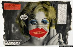 Linder Sterlings Feminist Punk Collages Tear Up 30 Years Of Bad Advertising (PHOTOS, NSFW)