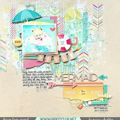 A fabulous #mixedmedia layout created with the goodies in our @hipkitclub #july2015 #hipkits by DT member @missywhidden .  #hkcexclusiveprojectlife @kjstarre @ranger_ink @tim_holtz #distressink @simplestories_ #summervibes @octoberafternoon #summertime @cratepaper #poolside @americancrafts #thickers #journey