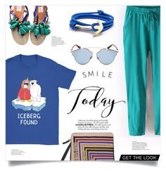 """""""Smile Today"""" by mahafromkailash on Polyvore featuring Lizzie Fortunato, Lanvin and Christian Dior"""