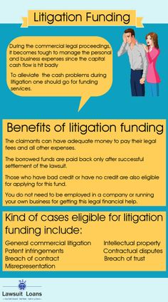 Litigation funding is available for plaintiffs who are unable to meet the expenses for their pending lawsuit. There are many funding companies that provide the claimants with such funds in a hassle free manner.