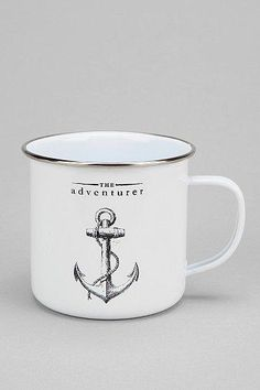 The Adventurer Enamel Mug #urbanoutfitters