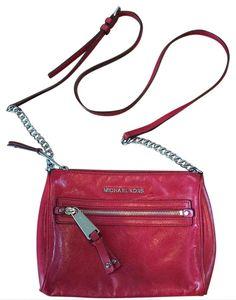 4de8e841ae Michael Kors Mini Red Cross Body Bag. Get the trendiest Cross Body Bag of  the. Tradesy