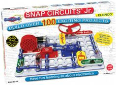 Build 101 different electronic projects. Elenco Snap Circuits Jr comes with over 30 pieces to create 101 different electronic projects. the pieces. Diy Electronics, Electronics Projects, Circuit Components, Snap Circuits, Scientific Drawing, Electronic Kits, Electronic Devices, Electronic Circuit, Best Educational Toys