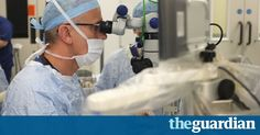 """#Therapy #NHS Surgeons use robot to operate inside eye in world first  Photograph: Oxford University Hospitals NHS/PA ... MacLaren said: """"This will help to develop novel surgical treatments for blindness, such as gene therapy and stem cells, which need to be inserted under the retina with a high degree of precision."""" The ... https://www.theguardian.com/technology/2016/sep/10/robot-eye-operation-world-first-oxford-john-radcliffe"""