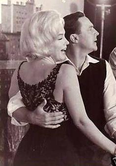 Marilyn Monroe and Gene Kelly.