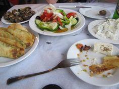 Greek food. Love it!