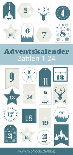 Adventskalender Zahlen 1-24 drucken pdf, zahlen für adventskalender, adventskalender diy, adventskalender freebie, adventskalender printable, kostenloser download, adventskalender zahlen kostenlos