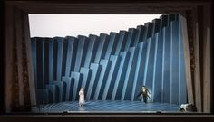 The Snow Queen, Royal Opera Copenhagen Directed by Francisco Negrin / Set design by Palle Steen Christensen Design Set, Theatre Design, Snow Queen, Copenhagen, Opera, Stage, Home Decor, Decoration Home, Opera House
