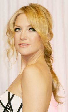 Kate Hudson -- 1. Love her 2. Wish my hair looked like this in a braid. SO CUTE!!