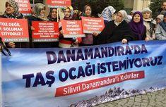 """Danamandıra Köylüleri: """"Dinamitlerinizi ve Hafriyat Kamyonlarınızı Alın Gidin""""- Yerel Haberler"""