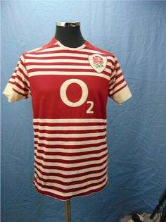 Capitalthriftshop.com Official Canterbury England Rugby Shirt Size Medium.Very Lightly Used.