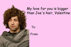 Fall Out Boy Valentine.