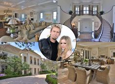 Avril Lavigne & Chad Kroeger Buy $5.4 Million Sherman Oaks Chateau—See Their Gorgeous New Pad!  Avril Lavigne, Chad Kroeger