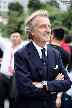Luca di Montezemolo - Ferrari Chairman and Legend
