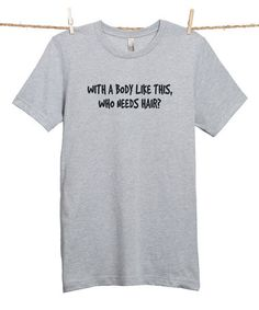 This Sport Gray 'With a Body Like This' Tee - Men's Regular is perfect! #zulilyfinds