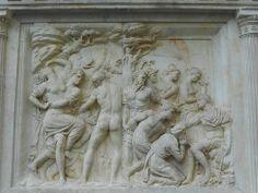 Monumento a Giovanni delle Bande Nere, Firenze  BACCIO BANDINELLI pseudonimo di Bartolommeo Brandini (Firenze, 17 ottobre 1488 – Firenze, 7 febbraio 1560)    #TuscanyAgriturismoGiratola