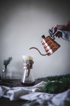 Coconut Spice Coffee Latte by Eva Kosmas Flores