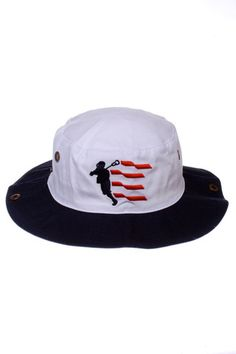 d93e51f034c Ripping Heaters With Red Streamers Lacrosse USA Bucket Hat