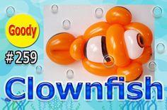 Clownfish Balloon    NEMO   Finding Dory  カクレクマノミ(ニモ)を作ろう!
