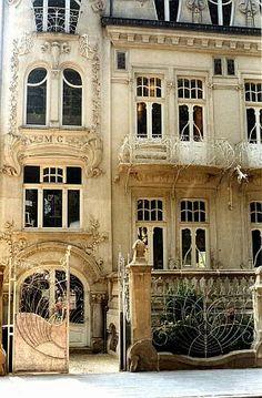 rue d'Alzette, 96, Esch-sur-Alzette, Luxembourg - Art #Nouveau 1902