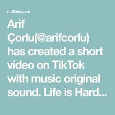 Arif Çorlu(@arifcorlu) has created a short video on TikTok with music original sound. Life is Hard 👊 Hayat Zor ✊ #arifcorlu #trend #foryou #degisim #powerAwesome #tiktok Jayden Croes, Life Is Hard, Viral Videos, Puns, Pretty People, My Hero Academia, The Originals, Armin Snk, Sasuke