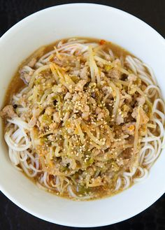 Hatch Chile Tantanmen Spicy Noodles Recipe, Spicy Sauce, Asian Noodle Recipes, Asian Recipes, Ethnic Recipes, Red Miso, Cant Stop Eating, Fusion Food, Chile Recipe