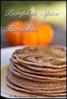 Clean Eating Pumpkin Spice Pancakes (Click Pic for Recipe) I completely swear by CLEAN eating!!  To INSANITY and back....  One Girls Journey to Fitness, Health, & Self Discovery.... http://mmorris.webs.com/